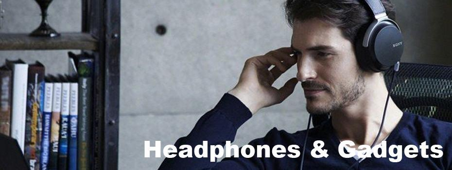 Bluetooth Headphones and Gadgets