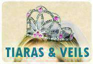 Tiaras, Veils, Hats & Headbands