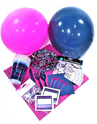 Pink & Black Bachelorette Party Pack - Bachelorette Superstore - Bachelorette Party Ideas