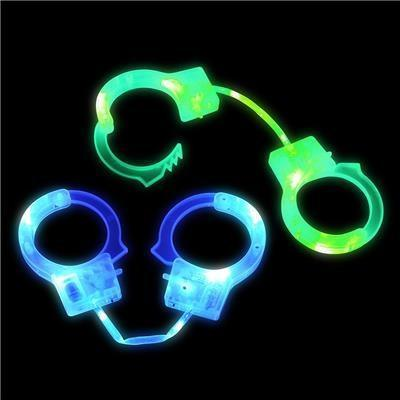 Light Up Hand Cuffs, 1 pc - Bachelorette Superstore - Bachelorette Party Ideas