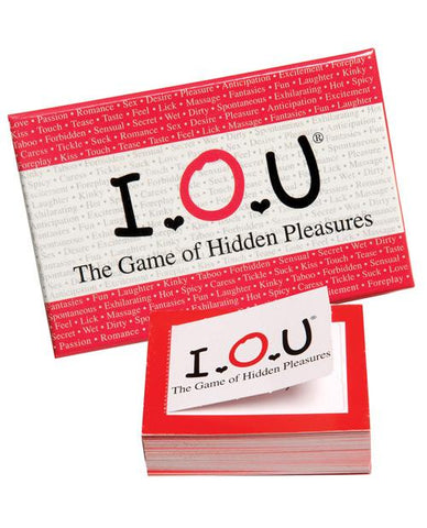 IOU- The game of hidden pleasures - Bachelorette Superstore - Bachelorette Party Ideas