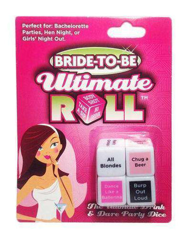 Bride-to-Be Ultimate Roll Dice game - Bachelorette Superstore - Bachelorette Party Ideas