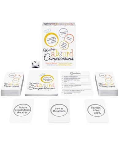 Absurd Comparisons game- wedding version - Bachelorette Superstore - Bachelorette Party Ideas