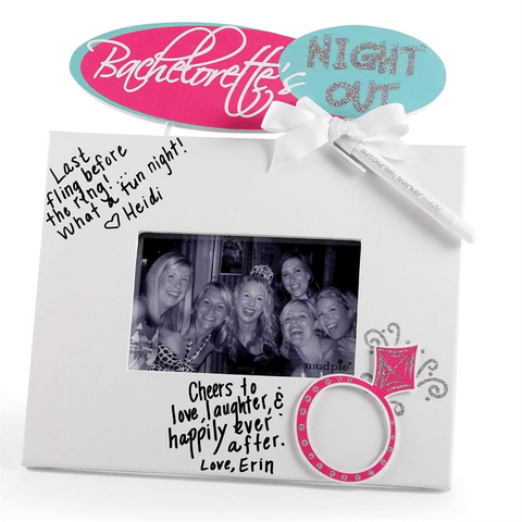 Bachelorette Autograph Frame - Bachelorette Superstore - Bachelorette Party Ideas