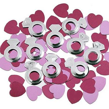 Diamonds & Hearts Confetti