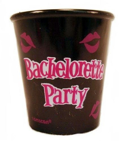 Bachelorette Party Plastic Shot Glass, 1 pc - Bachelorette Superstore - Bachelorette Party Ideas