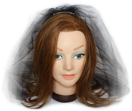 Black Veil - Bachelorette Superstore - Bachelorette Party Ideas
