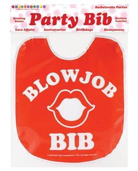Blow Job Bib, 1 pc - Bachelorette Superstore - Bachelorette Party Ideas