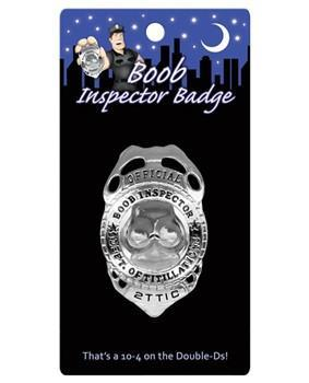Boob Inspector Badge - Bachelorette Superstore - Bachelorette Party Ideas