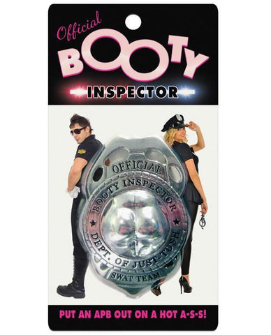 BOOTY Inspector badge - Bachelorette Superstore - Bachelorette Party Ideas