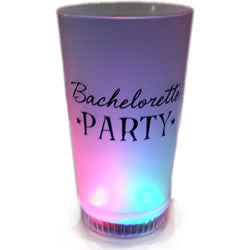 "Light Up ""Bachelorette Party"" Pint Glass"