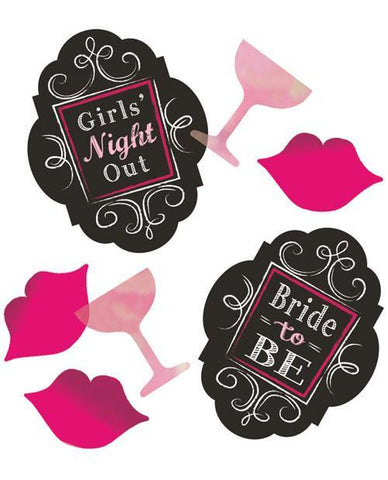 Bridal Bash Confetti, lips & drinks - Bachelorette Superstore - Bachelorette Party Ideas