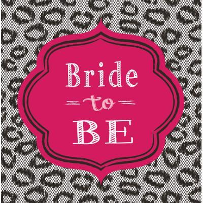 Bachelorette Bash Napkins, Luncheon 16ct.