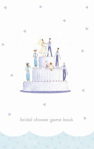 Wedding Wishes, Bridal Shower Game Book