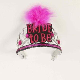 Pink Sequin Bride to Be Tiara