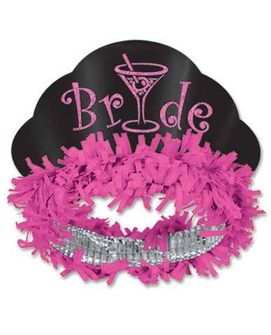 Glitter Martini Bride Headband - Bachelorette Superstore - Bachelorette Party Ideas