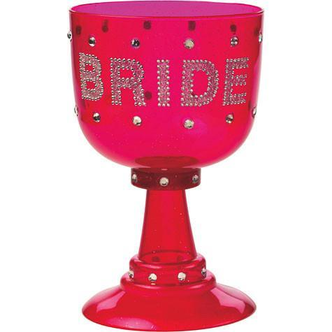 Blinging Bride Goblet