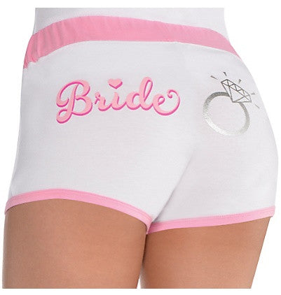 Bride Hot Shorts, L/XL - Bachelorette Superstore - Bachelorette Party Ideas