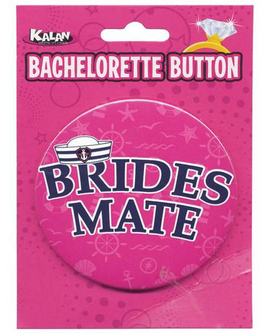 Bride's Mate Button, 1 pc