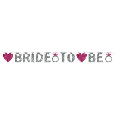 Bride To Be Ribbon Banner, 12 ft. - Bachelorette Superstore - Bachelorette Party Ideas