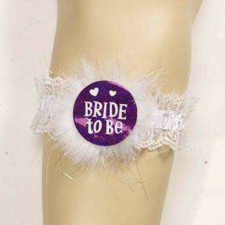 Bride to Be Bridal Garter - Bachelorette Superstore - Bachelorette Party Ideas