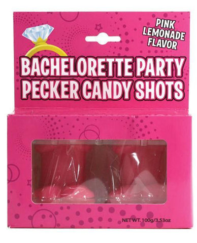 Bachelorette Party Pecker Candy Shots, 2pk