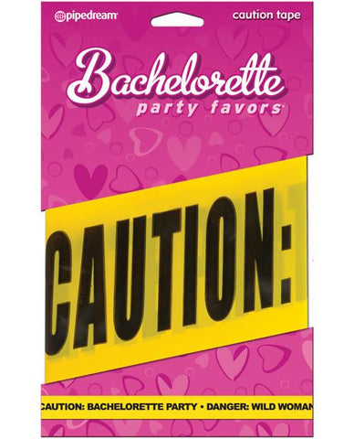 Yellow Caution Bachelorette Party! Tape - Bachelorette Superstore - Bachelorette Party Ideas