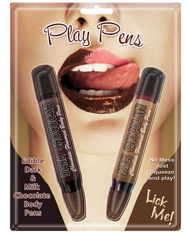 Lovers Chocolate Body Pen Set
