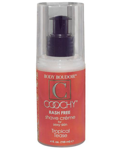 Coochy Shave Cream - Tropical Tease, 4 oz.