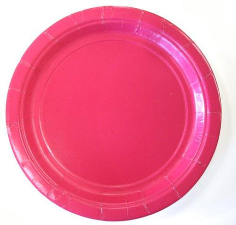 "Dark Pink Plates, 7""- 20ct. - Bachelorette Superstore - Bachelorette Party Ideas"
