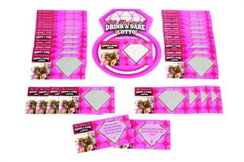 Miss Bachelorette Drink & Dare Lotto Game
