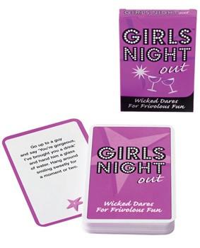 Girls Night Out Card Game- Wicked Dares - Bachelorette Superstore - Bachelorette Party Ideas