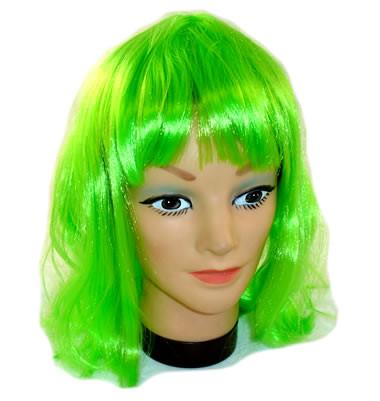 Green Party Wig