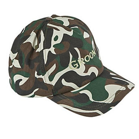Groom Camo cap, 1 pc - Bachelorette Superstore - Bachelorette Party Ideas