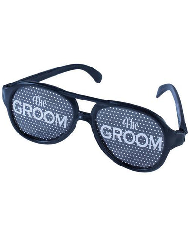 The Groom, pin-hole glasses- 1 pr