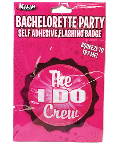 I DO crew- Flashing Badge