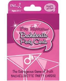 'I've Never' Bachelorette Card Game - Bachelorette Superstore - Bachelorette Party Ideas