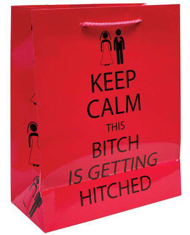 Bachelorette Keep Calm Gift Bag, 1 pc - Bachelorette Superstore - Bachelorette Party Ideas