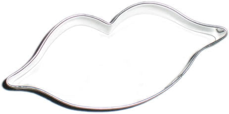 Lips Cookie Cutter, 1 pc