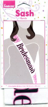 SWEET Bridesmaid Sash - Bachelorette Superstore - Bachelorette Party Ideas