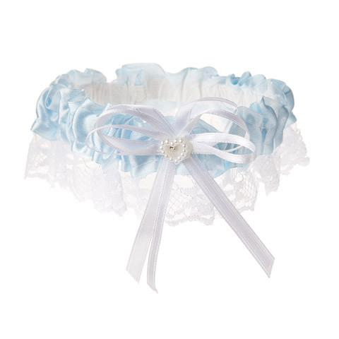 Light Blue Lace Garter - Bachelorette Superstore - Bachelorette Party Ideas