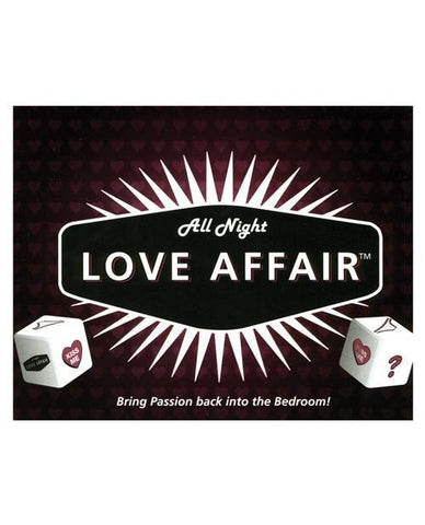 All Night- Love Affair Game - Bachelorette Superstore - Bachelorette Party Ideas
