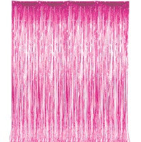 Pink Shiny Door Fringe, 1 pkg - Bachelorette Superstore - Bachelorette Party Ideas
