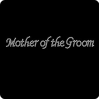 "Rhinestone ""Mother of the Groom"" Tank Top or T-shirt - Bachelorette Superstore - Bachelorette Party Ideas"