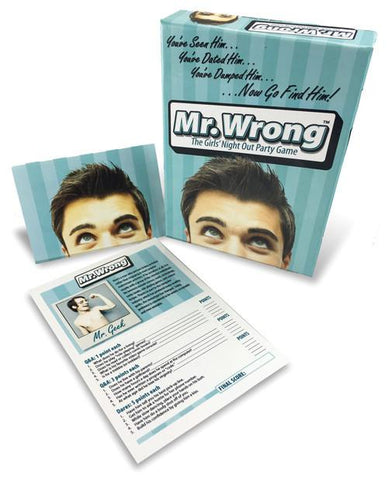 Mr. Wrong, The Girls Night Out Party Game