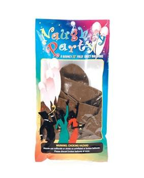 Naughty Party Balloons- DARK, 8 pack