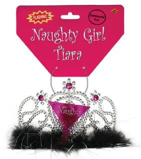 Naughty Girl Light Up Tiara