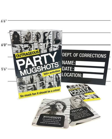 Outrageous Mugshots Adult Party Game - Bachelorette Superstore - Bachelorette Party Ideas
