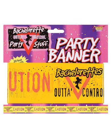 Outta Control Bachelorette Party Banner Tape - Bachelorette Superstore - Bachelorette Party Ideas