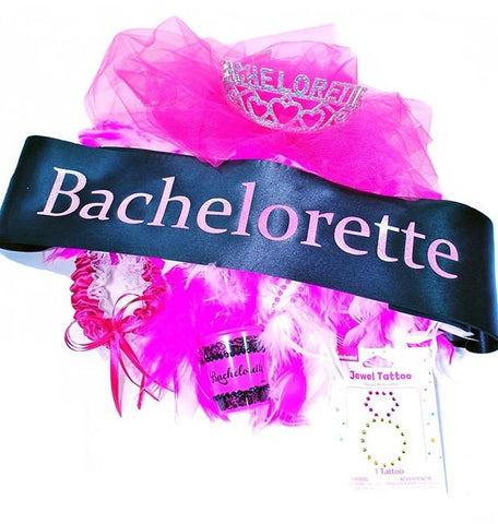 Pretty 'n Pink Bachelorette Kit - Bachelorette Superstore - Bachelorette Party Ideas